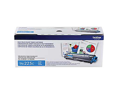Brother TN-225C Cyan Toner Cartridge (TN225C)