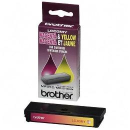 Brother LC03MY Magenta / Yellow Ink Cartridge (LC-03MY)