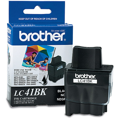 Brother LC41BK Black Ink Cartridge (LC-41BK)