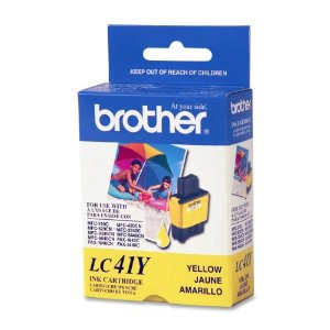 Brother LC41Y Yellow Ink Cartridge (LC-41Y)