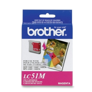 Brother LC51M Magenta Ink Cartridge (LC-51M)