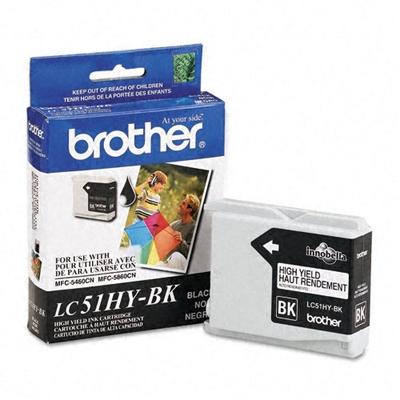 Brother LC51HYBK Black Ink Cartridge (LC51HY-BK)