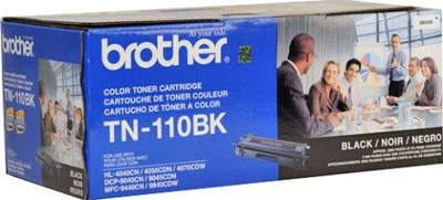 Brother TN110BK Black Toner Cartridge (Brother TN-110BK)