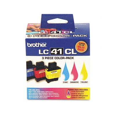 Brother LC413PKS TriColor Ink Cartridge (LC-413PKS)