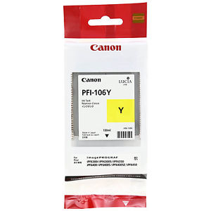 Canon 6624B001AA Yellow Ink Cartridge (PFI-106Y)
