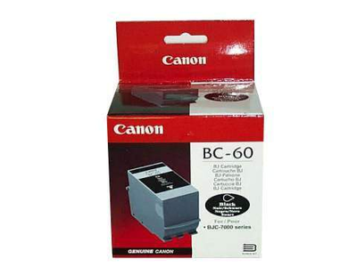 Canon BC-60 Black Ink Cartridge (0917A003)