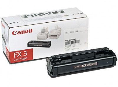 Canon FX3 Black Toner Cartridge (1557A002BA)