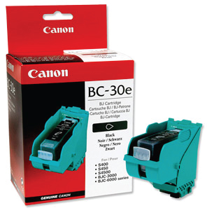 Canon BC-30 Black Ink Cartridge