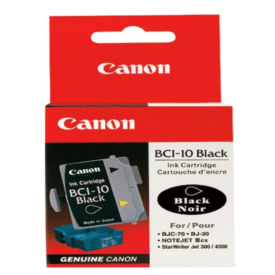 Canon BCI-10 Black Ink Tank (0956A003)