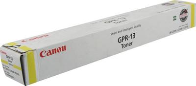Canon 8643A003AA Yellow Toner Cartridge (GPR-13)