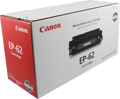 Canon 3842A002AA Black Toner Cartridge (EP-62)