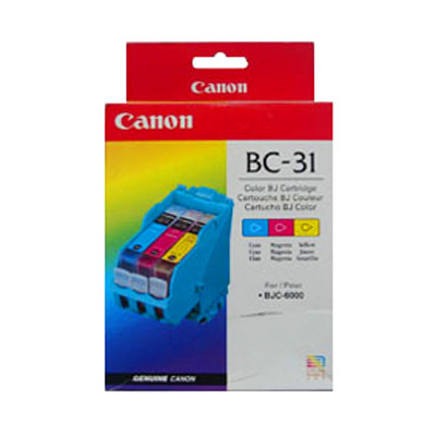 Canon BC-31 TriColor Ink Cartridge