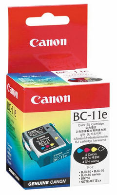 Canon BC-11E 4-Color Ink Cartridge (0907A003)