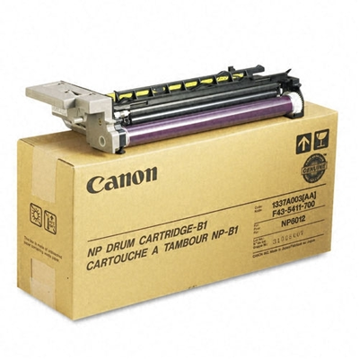 Canon 1337A003AA Black Drum Cartridge (NP6012)