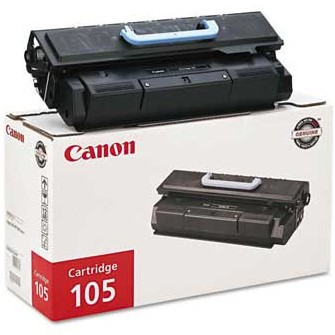Canon 0265B001AA Black Toner Cartridge (105)