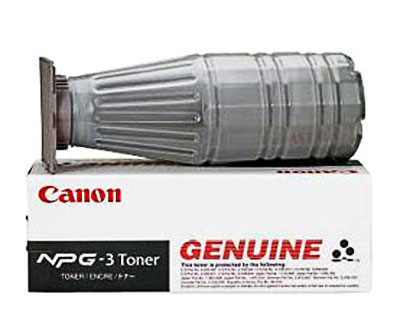 Canon 1374A003AA Black Toner Cartridge (NPG-3)