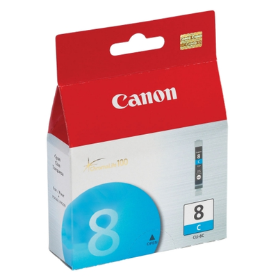 Canon 0621B002 Cyan Ink Cartridge (CLI8C)