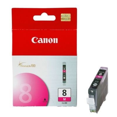 Canon 0622B002 Magenta Ink Cartridge (CLI8M)