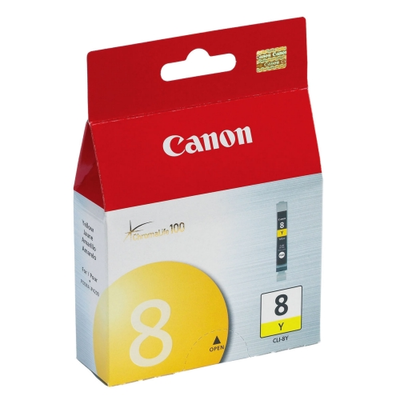 Canon 0623B002 Yellow Ink Cartridge (Canon CLI8Y)
