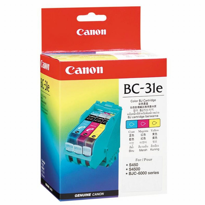 Canon 4609A003AA TriColor Ink Cartridge (BC-31E)