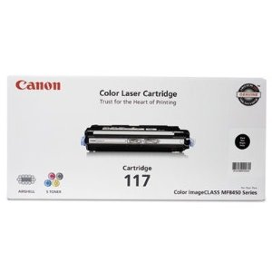 Canon 2578B001 Black Toner Cartridge (CRG-117K)
