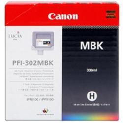 Canon 2215B001AA Matte Black Ink Cartridge (PFI302MBK)