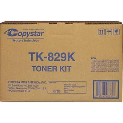 Copystar TK829K Black Toner Kit