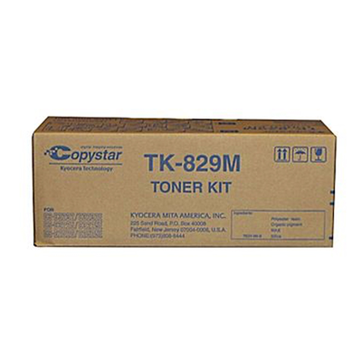 Copystar TK829M Magenta Toner Cartridge