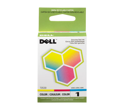Dell T0530 TriColor Ink Cartridge (SERIES 1)