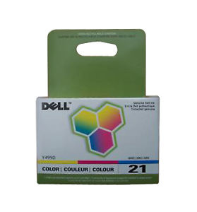 Dell XG8R3 TriColor Ink Cartridge (SERIES 21)