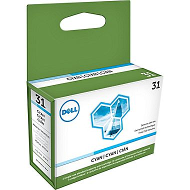 Dell PYX1V Cyan Ink Cartridge (SERIES 31)