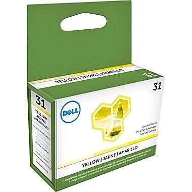 Dell 3MH11 Yellow Ink Cartridge (SERIES 31)