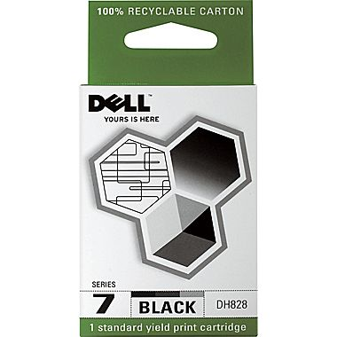 Dell DH828 Black Ink Cartridge (SERIES 7, 310-8376)