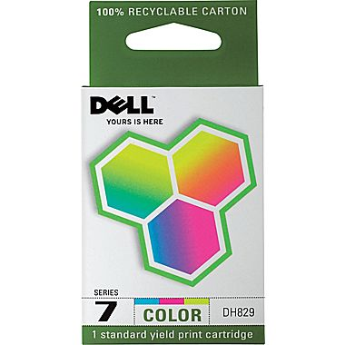 Dell DH829 Color Ink Cartridge (SERIES 7, 310-8375)