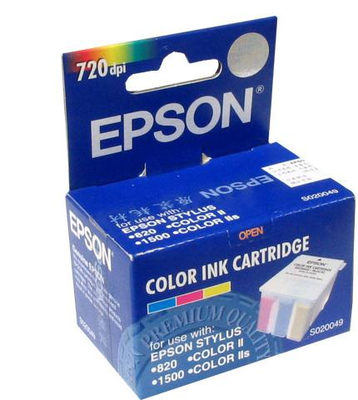 Epson S020049 Color Ink Cartridge