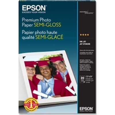 Epson S041327 Semi-gloss 13 in. x 19 in. Premium Photo Paper