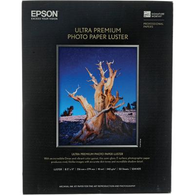 Epson S041405 Luster 8.5 in. x 11 in. Ultra Premium Photo Paper