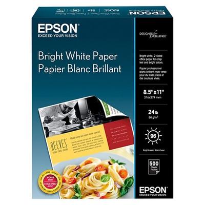 Epson S041586 Bright White 8.5 in. x 11 in. Premium Paper