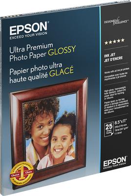 Epson S042182 Glossy 8.5 in. x 11 in. Ultra Premium Photo Paper