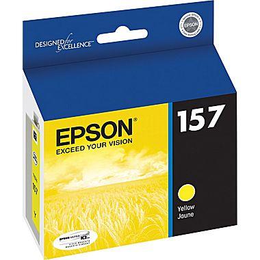 Epson T157420 Yellow Ink Cartridge (157)