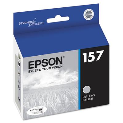 Epson T157720 Light Black Ink Cartridge (157)