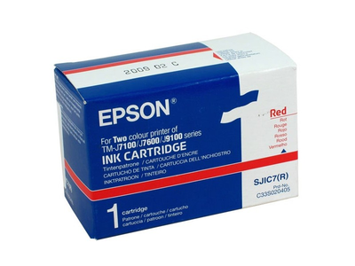 Epson C33S020405 Red Ink Cartridge (SJIC7(R))