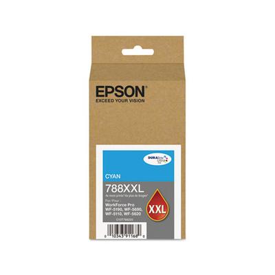 Epson T788XXL220 Cyan Ink Cartridge (788XXL)