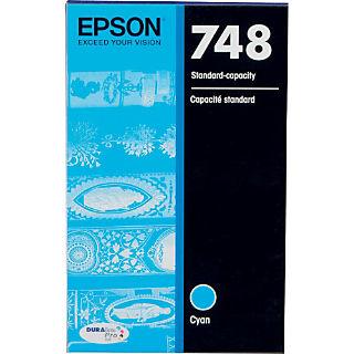Epson T748220 Cyan Ink Cartridge (748)