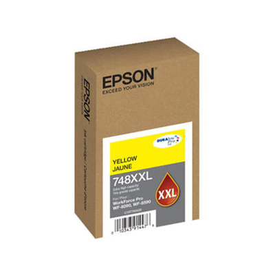Epson T748XXL420 Yellow Ink Cartridge (748XXL)