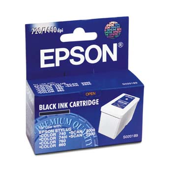 Epson S020189 Black Ink Cartridge