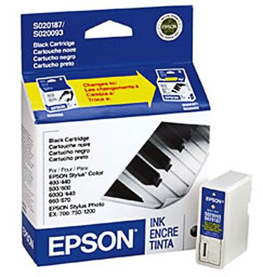 Epson S187093 Black Ink Cartridge