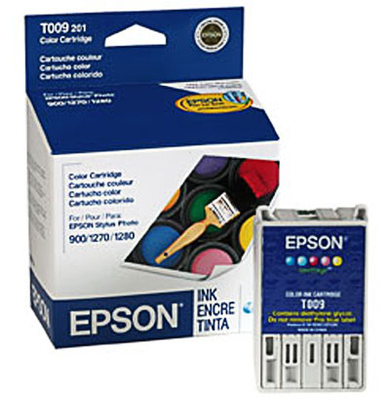 Epson T009201 TriColor Ink Cartridge