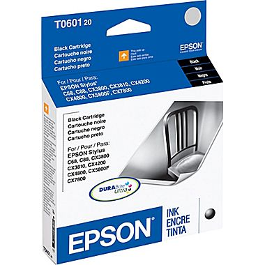 Epson T060120 Black Ink Cartridge (T0601)