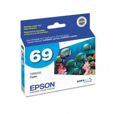 Epson T069220 Cyan Ink Cartridge (69)